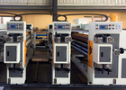 Corrugated Box Feeder Flexo Printer Slotter Machine / Small Carton Box Making Machine