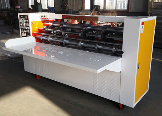 BFY Series Thin Blade Slitter Scorer , Paperboard Slitting And Creasing Machine