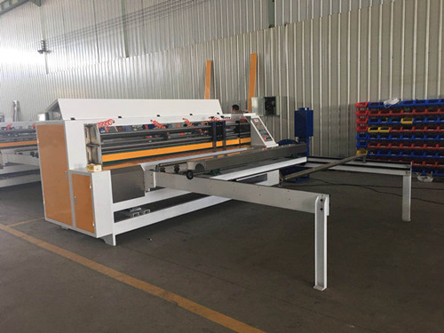Automatic Thin Knife Edge Slitter Scorer Corrugated Clapboard 4KW Power